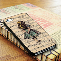 Alice in wonderland note Alice in wonderland Alive Cartoon Princess | For iPhone 4/4S Cases | Free Shipping | AH0443