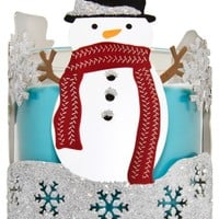 3-Wick Candle Sleeve Sparkle & Shine Snowmen