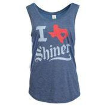 Ladies I TX Shiner Tank