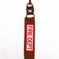 Fire Department Key Chain