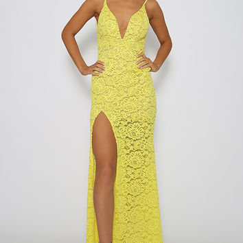 Katniss Dress - Yellow