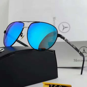 Fashion Sunglasses Vintage Fashion Metal Frame Mirror Sun Glasses Unique Flat Sunglasses G-YJ-LHSTCYJC