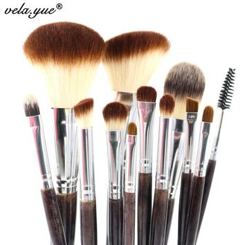 Professional Makeup Brush Set 12pcs High Quality Makeup Tools