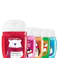 5-Pack PocketBac Sanitizers Holiday Traditions