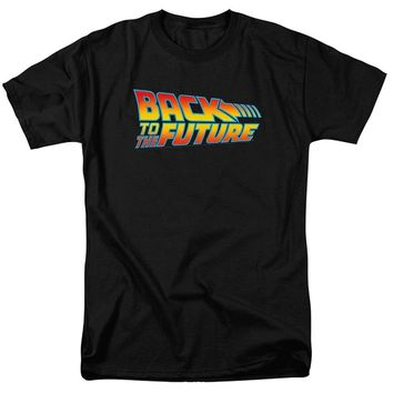 2017  Fashion Back to the Future T-Shirt and Exclusive Stickers