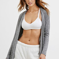 Textured Plush PJ Shorts