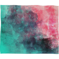 Allyson Johnson Cotton Candy Fleece Throw Blanket