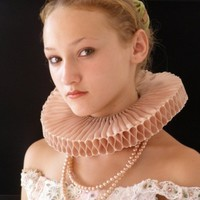 Elizabethan  Ruff  -Woodstock Manor-by CostumeRenaissance