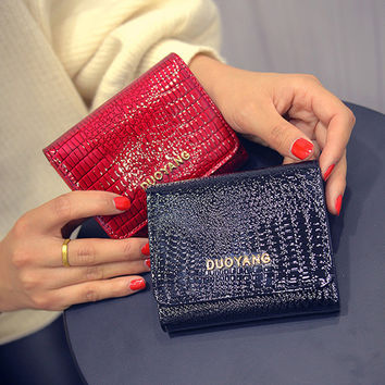 Ladies Wallet Korean Purse [6048276609]