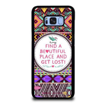 PIECE TRIBAL PATTERN 2 Samsung Galaxy S8 Plus Case Cover