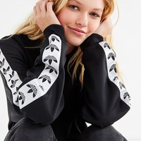adidas Originals Taped Crew-Neck Sweatshirt | Urban Outfitters