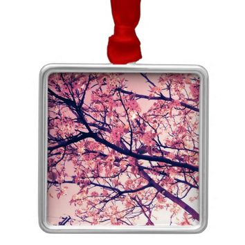 Blossoms Metal Ornament