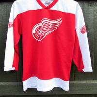 Vintage Red Wings Hockey Shirt