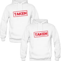 taken Love Couple Hoodie