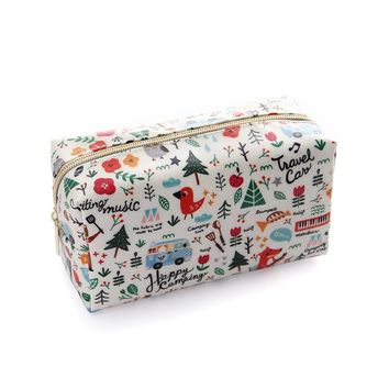 Travel Cosmetic Bags Small Makeup Clutch Pouch Cosmetic