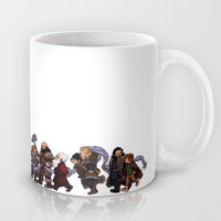 An Unexpected Line-up (color version) Mug by Made Of Tin