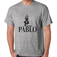 Men's T Shirt Pablo Escobar El Patron Mexicanos Cool T Shirt