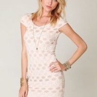 Free People Short Sleeve Bow Back Dress at Free People Clothing Boutique