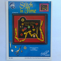 Stitch In Time By Patty Cox Cross Stitch Booklet Suzanne McNeill Designs No. 104