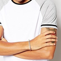 ASOS Bangle With Etching