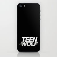 Teen wolf logo iPhone & iPod Skin by STATE OF GRACCE