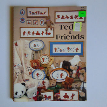 Teddy and Friends Counted Cross Stitch Dale Burdett 1984