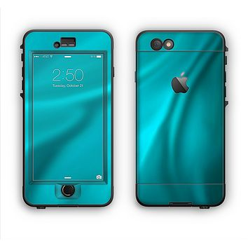 The Turquoise Highlighted Swirl Apple iPhone 6 LifeProof Nuud Case Skin Set