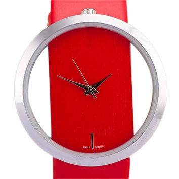 Iconic luxury watch (Red)