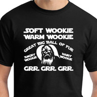 Soft Wookie Prayer. Big Bang Theory would be jealous. Star Wars fans get yours now.