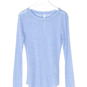 Soft Wool Knit Shirt