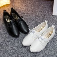 Korean Wedge Pointed Toe Shoes [8865368652]