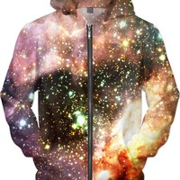 Messier 17 | Universe Galaxy Nebula Star Clothes | Rave & Festival Shirt