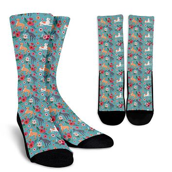 Greyhound Flower Socks - Promo