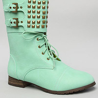 The Titan Boot in Mint