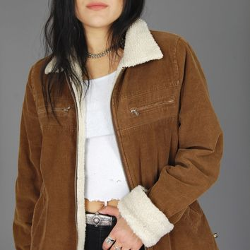 Out West Sherpa Corduroy Jacket