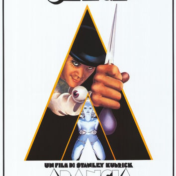 A Clockwork Orange (Italian) 11x17 Movie Poster (1972)
