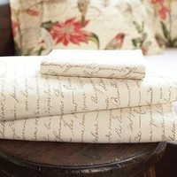 Calligraphy Sheet Set