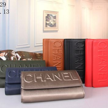 chanel 2017 new fashion Shoulder Bag Wallet [101553111055]