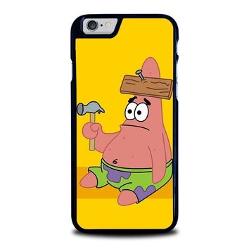 patrick star spongebob iphone 6 6s case cover  number 1