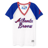 Atlanta Braves Bling Mesh Jersey - PINK - Victoria's Secret