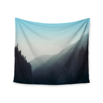 "Leah Flores ""Wilderness"" Mountain Range Wall Tapestry"