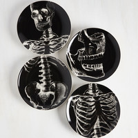 Macabre and Cheese Plate Set | Mod Retro Vintage Kitchen | ModCloth.com