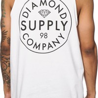 Diamond Supply Co Stamped Tank Top