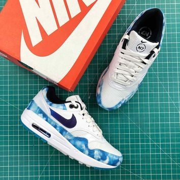 Nike N7 Air Max 1 Acid Wash Fashion Shoes - Best Online Sale