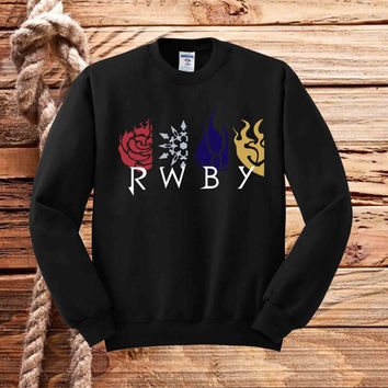 Symbol RWBY Pokemon sweater unisex adults