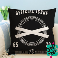 Official Issue XO The Weeknd Zippered Pillow Case, Cushion Case, Pillow case