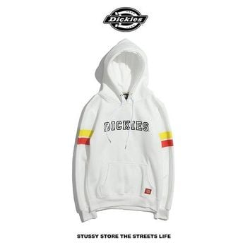 Dickies Letter Printing Hedging Hooded Sweater M---XXL