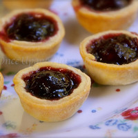 Once Upon a Plate: Fresh Cherry Jam Tartlets
