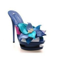 Gianmarco Lorenzi Cool Slippers Watertable With Stage Shoes - $198.00