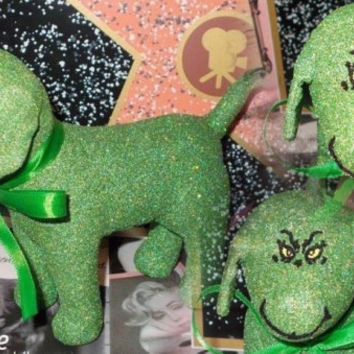 INSTOCK Christmas THE GRINCH Victoria Secret Customized Puppy Dog